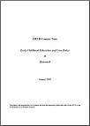 OECD Thematic Review of Early Childhood Education and Care: Denmark