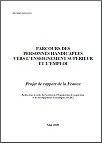 Country Background Report: Pathways for Disabled Students to Tertiary Education and Employment: France (French version)