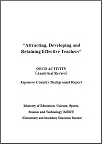 Country Background Report: Attracting, Developing and Retaining Effective Teachers: Japan